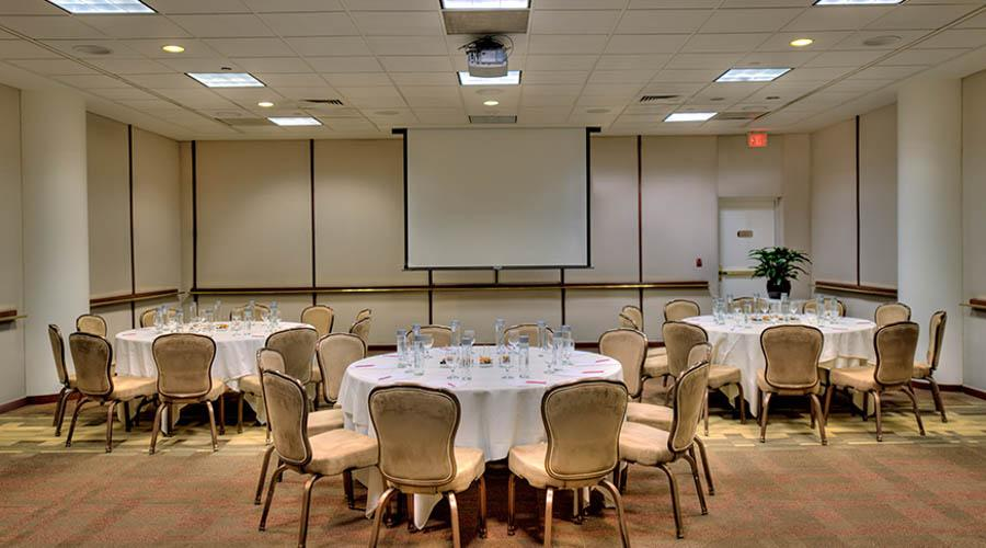 the hilton meeting room