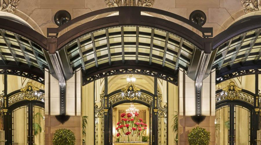 downtown san francisco luxury hotel porte cochere